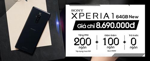 Mua Sony Xperia 1 Giá chỉ 8,6 triệu